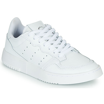 Scarpe Unisex bambino Sneakers basse adidas Originals SUPERCOURT J Bianco
