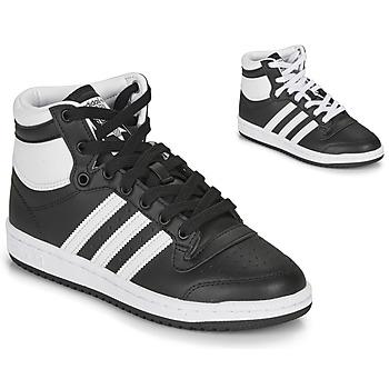 Scarpe Unisex bambino Sneakers alte adidas Originals TOP TEN J Nero / Bianco
