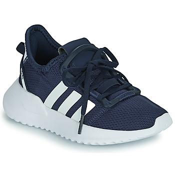 Scarpe Bambino Sneakers basse adidas Originals U_PATH RUN C Marine / Bianco