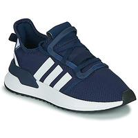 Scarpe Bambino Sneakers basse adidas Originals U_PATH RUN J Marine / Bianco