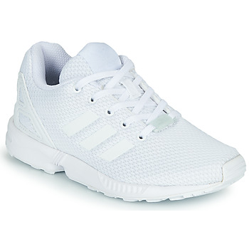 Scarpe Unisex bambino Sneakers basse adidas Originals ZX FLUX C Bianco