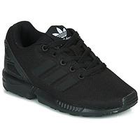 Scarpe Unisex bambino Sneakers basse adidas Originals ZX FLUX C Nero