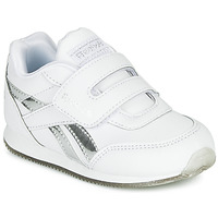 Scarpe Bambina Sneakers basse Reebok Classic REEBOK ROYAL CLJOG Bianco / Argento