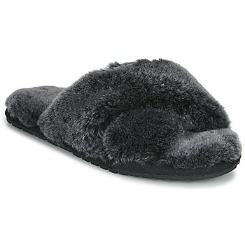 Scarpe Donna Pantofole EMU MAYBERRY FROST Nero