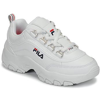 Scarpe Bambina Sneakers basse Fila STRADA LOW KIDS Bianco