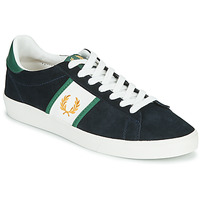 Scarpe Uomo Sneakers basse Fred Perry SPENCER SUEDE / TIPPING Blu