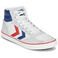 Scarpe Sneakers alte Hummel STADIL HIGH OGC 3.0 Bianco / Blu / Rosso