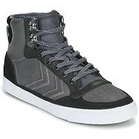 Scarpe Sneakers alte Hummel STADIL WINTER Nero / Grigio