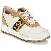 Scarpe Donna Sneakers basse Geox TABELYA Bianco / Leopard