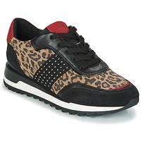 Scarpe Donna Sneakers basse Geox TABELYA Leopard / Nero