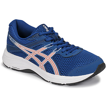 Scarpe Donna Running / Trail Asics GEL-CONTEND 6 Blu / Rosa