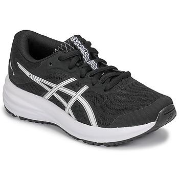 Scarpe Unisex bambino Running / Trail Asics PATRIOT 12 GS Nero / Bianco