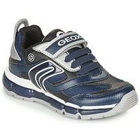 Scarpe Bambino Sneakers basse Geox ANDROID Marine / Argento