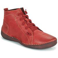 Scarpe Donna Sneakers alte Josef Seibel FERGEY 86 Rosso