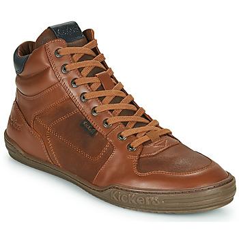 Scarpe Uomo Sneakers alte Kickers JEXPLOREHIGH Marrone