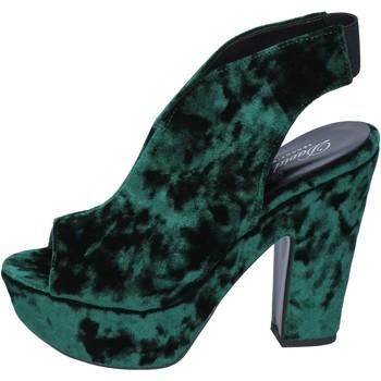 Scarpe Donna Sandali David Haron sandali velluto verde