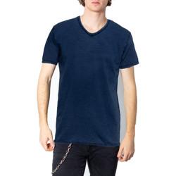 Abbigliamento Uomo T-shirt maniche corte Brian Brome 23/102-398 Blu