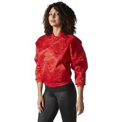 Abbigliamento Donna Giacche adidas Originals Originals Tracktop Bomber Rosso