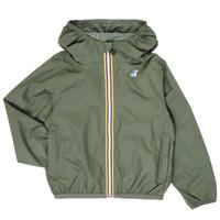Abbigliamento Unisex bambino giacca a vento K-Way LE VRAI 3.0 CLAUDE KIDS Kaki