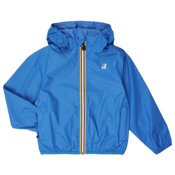 Abbigliamento Unisex bambino giacca a vento K-Way LE VRAI 3.0 CLAUDE KIDS Blu