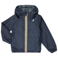 Abbigliamento Unisex bambino giacca a vento K-Way LE VRAI 3.0 CLAUDE KIDS Marine