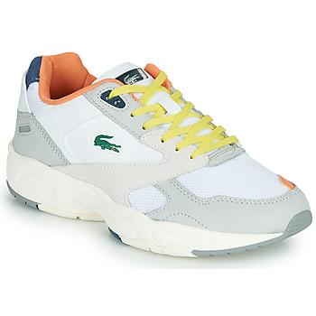 Scarpe Donna Sneakers basse Lacoste STORM 96 LO 0120 2 SFA Grigio / Blu