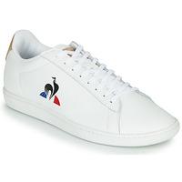 Scarpe Sneakers basse Le Coq Sportif COURTSET Bianco / Cognac