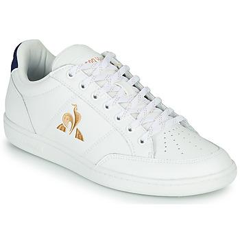 Scarpe Donna Sneakers basse Le Coq Sportif COURT CLAY W Bianco / Blu