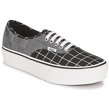 Scarpe Donna Sneakers basse Vans AUTHENTIC PLATFORM 2.0 Grigio