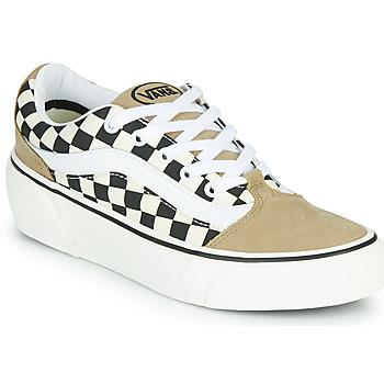 Scarpe Donna Sneakers basse Vans SHAPE NI Beige / Bianco