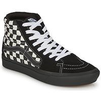 Scarpe Donna Sneakers alte Vans COMFYCUSH SK8-HI Nero