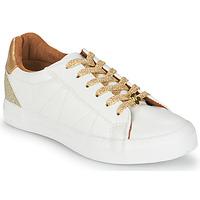 Scarpe Donna Sneakers basse Le Temps des Cerises VIC Bianco / Oro