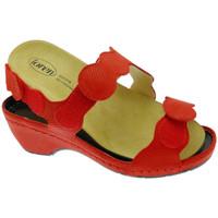 Scarpe Donna Sandali Calzaturificio Loren LOE687ro rosso