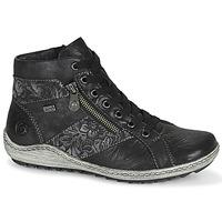 Scarpe Donna Sneakers alte Remonte Dorndorf LAMIN Nero