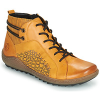 Scarpe Donna Sneakers alte Remonte Dorndorf R1499-68 Giallo