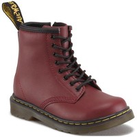 Scarpe Donna Stivaletti Dr Martens 1460 T Softy T Cherry Red Softy T Rood