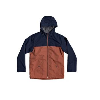 Abbigliamento Bambino Giubbotti Quiksilver WAITING PERIOD Marine / Marrone