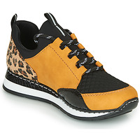 Scarpe Donna Sneakers basse Rieker TENUA Cognac / Nero