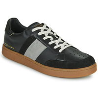 Scarpe Uomo Sneakers basse Serafini WIMBLEDON Nero / Grigio