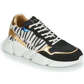 Scarpe Donna Sneakers basse Serafini OREGON Nero / Bianco / Oro