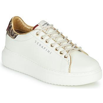 Scarpe Donna Sneakers basse Serafini J.CONNORS Bianco / Python