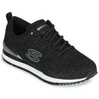 Scarpe Donna Sneakers basse Skechers SUNLITE Nero
