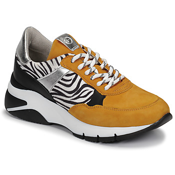 Scarpe Donna Sneakers basse Tamaris ELLE Mostarda / Nero / Zebra