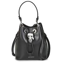 Borse Donna Borse a spalla Karl Lagerfeld K/IKONIK BUCKET BAG Nero