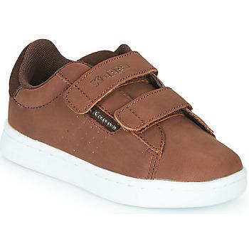 Scarpe Bambino Sneakers basse Kappa TCHOURI 2V Marrone
