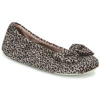 Scarpe Donna Pantofole Isotoner 97209 Leopard