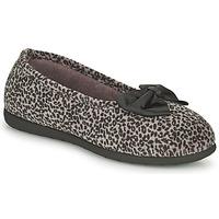 Scarpe Donna Pantofole Isotoner 97261 Leopard