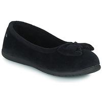 Scarpe Donna Pantofole Isotoner 97258 Nero