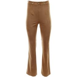 Abbigliamento Donna Pantaloni morbidi / Pantaloni alla zuava Vicolo TK0093 KUCO-UNICA - Pantalone  Marrone