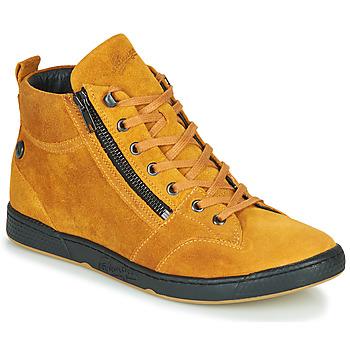 Scarpe Donna Sneakers alte Pataugas JULIA/CR F4F Ocre